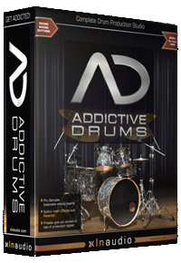 Caixa do Addictive Drums